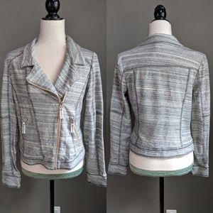 Anthropologie Jackets & Coats - Anthropologie Caitlin Knit Moto Jacket